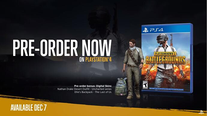 PUBG Hits PS4 With Nathan Drake And Ellie Items