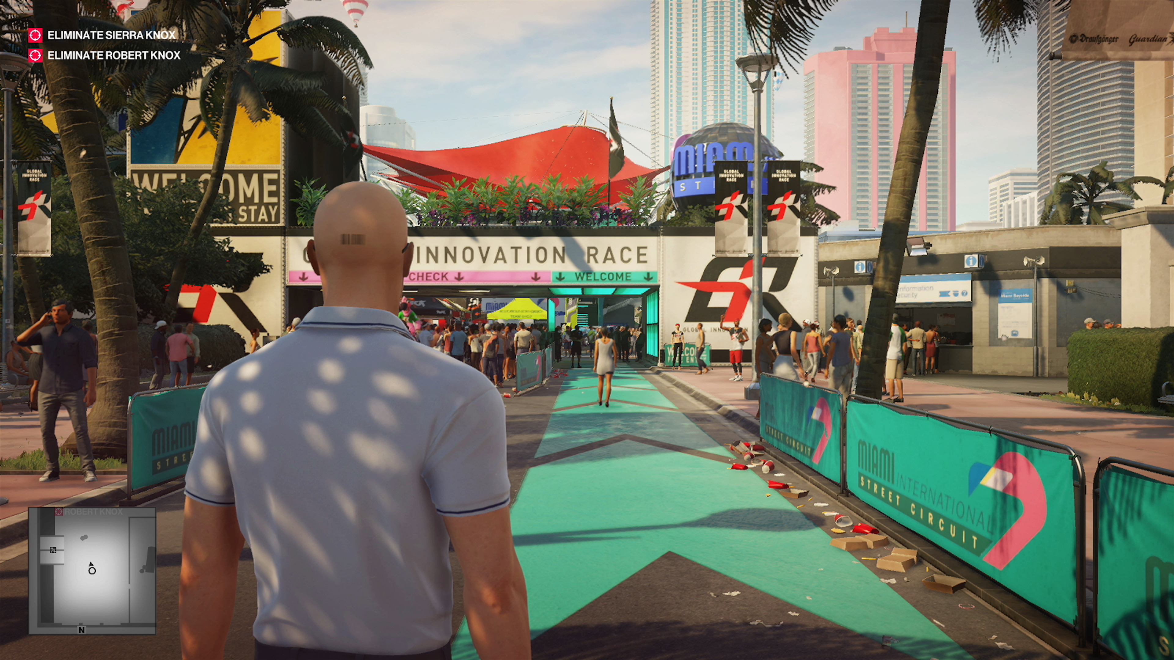 Hitman 2 is a stunningly detailed game with some cool tech features