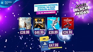 Al via le offerte di PlayStation per il Black Friday