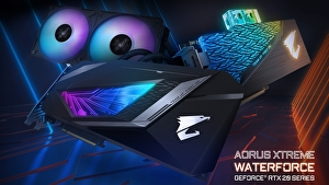 GIGABYTE annuncia le schede video Aorus Xtreme Waterforce Ge