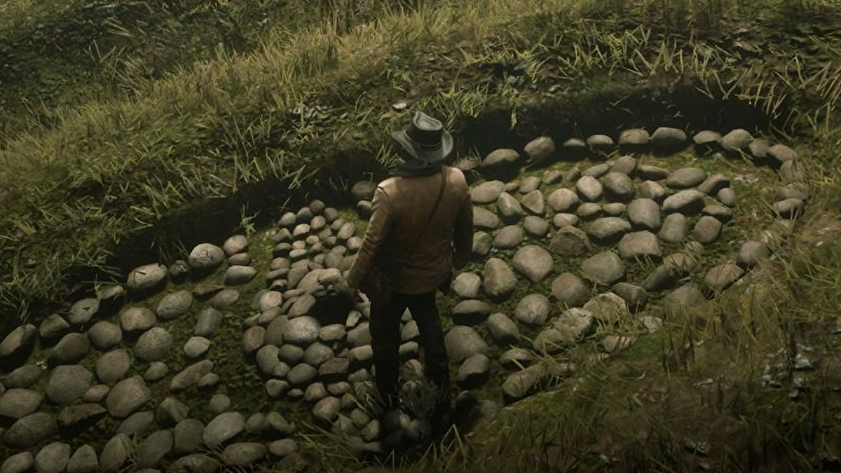 Red Dead Redemption 2 Poisonous Trail Treasure Map location