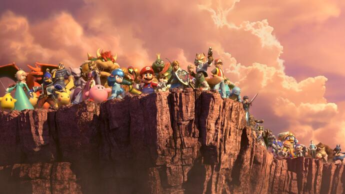 Super Smash Bros. Ultimate: i primi 5 minuti della modalità storia World of Light in un nuovo video gameplay