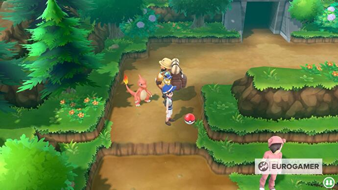 Pokémon Let's Go Route 10 north and Route 10 south - available