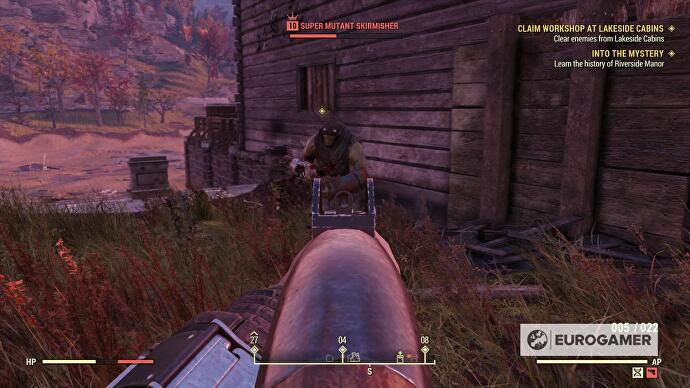 Fallout 76 Workshops and CAMP base building explained