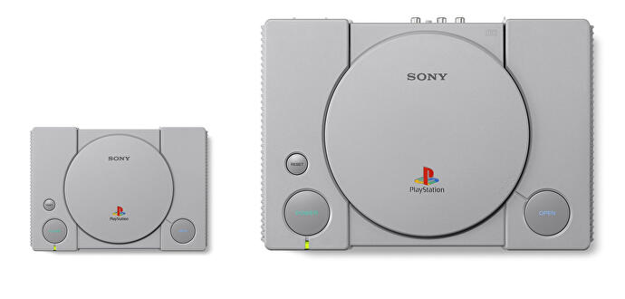 PlayStation Classic mixes PAL and NTSC games - and the