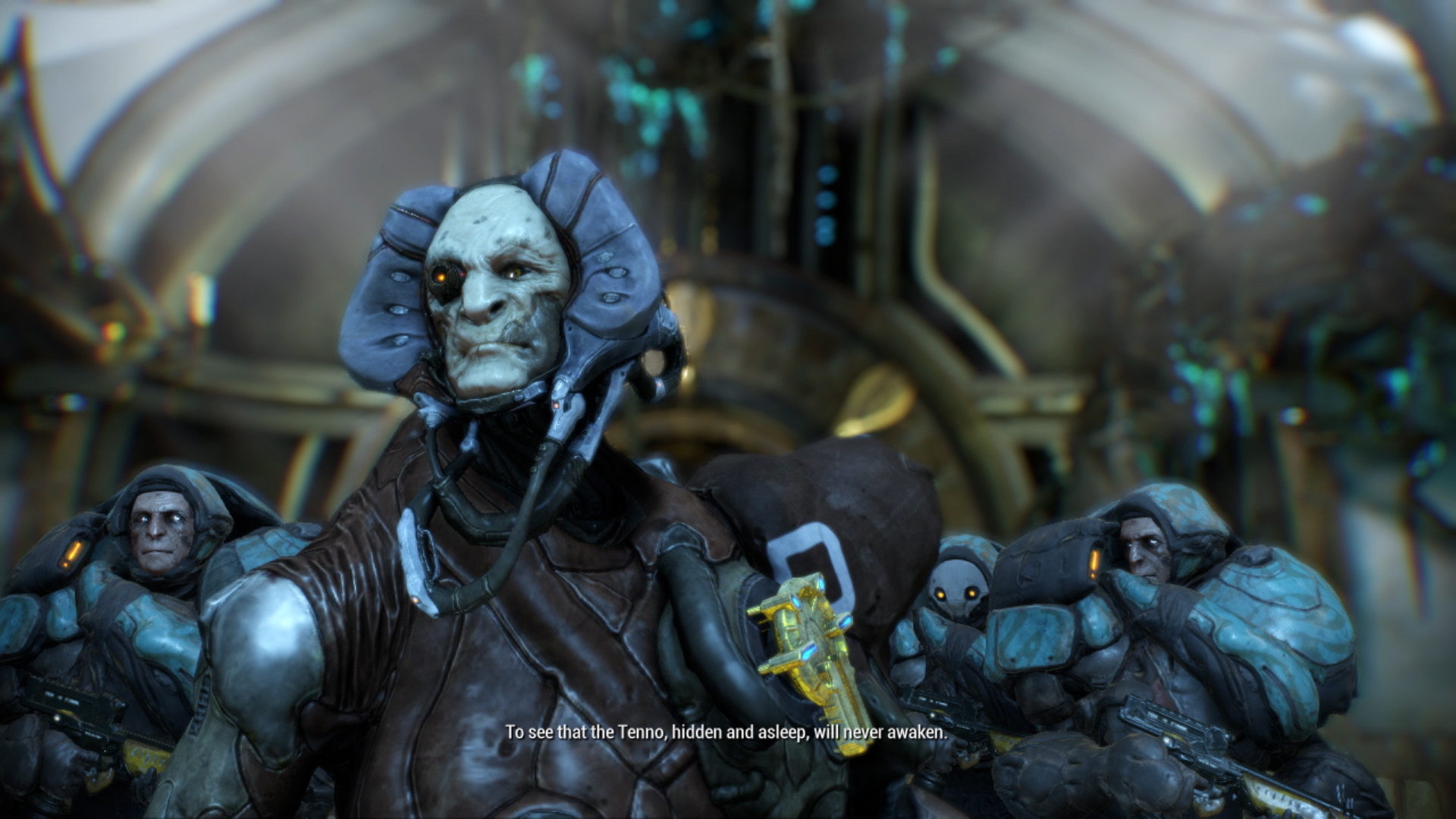 Warframe on Switch: Panic Button delivers another tech
