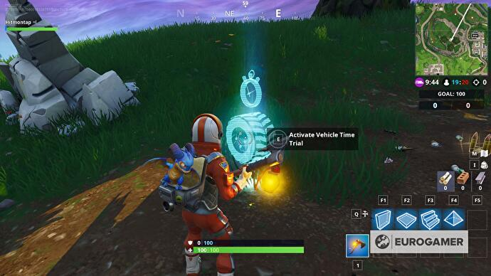 Fortnite Vehicle Timed Trial Locations Explained Eurogamer Net