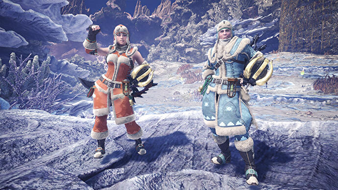 Monster Hunter World's festive Winter Star event is underway on Xbox