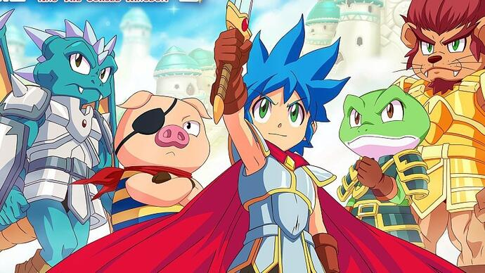 Monster Boy and The Cursed Kingdom - Análise - Monstruoso
