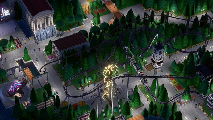 Parkitect review - the finest theme park sim for years