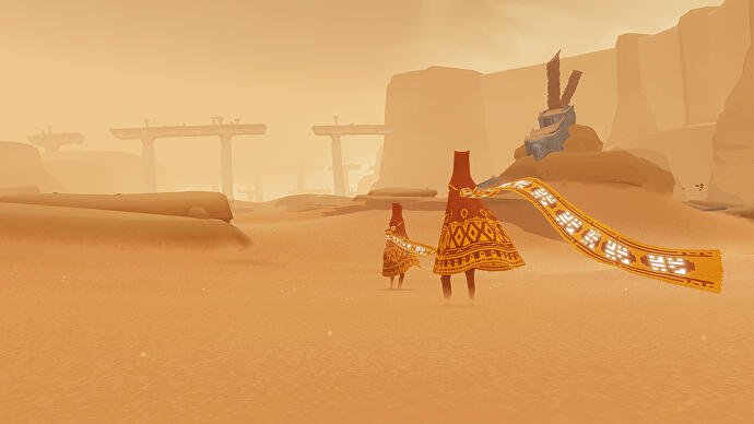 Journey Makes Its Pc Debut On The Epic Games Store