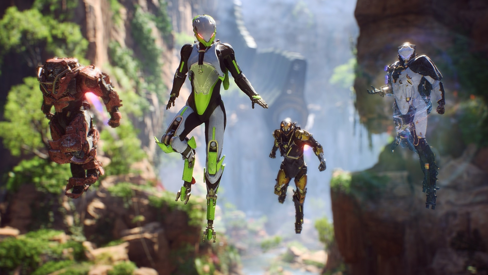 Here's when we'll get to play Anthem's upcoming open and 'VIP' demos