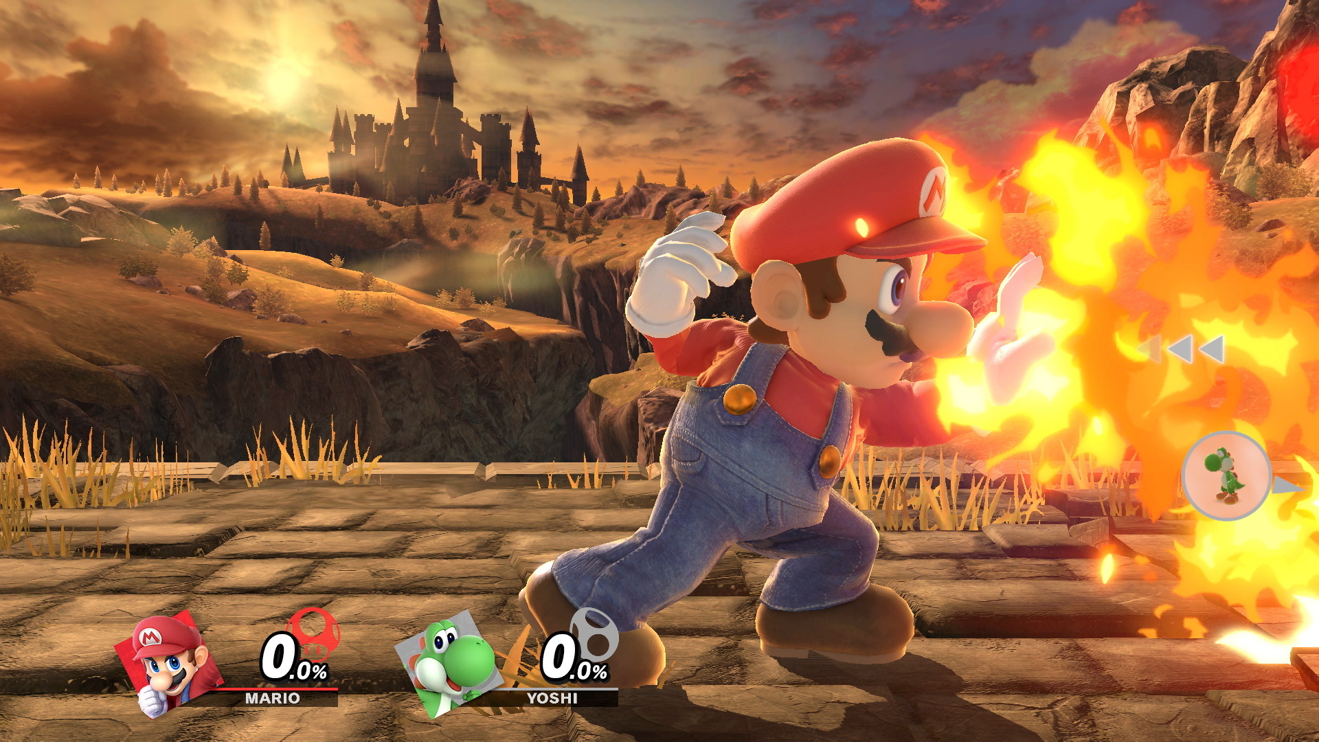 Does Super Smash Bros Ultimate Deliver A Generational Leap For Way Switches At The End Of Switched Circuit And 4way Marios Dungarees Get Higher Res Texture Switch Also Makes Stylistic Change Effects In With Cel Shading Used On Fire Smoke