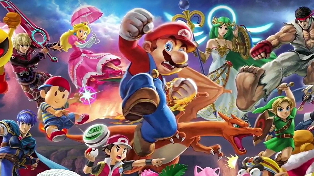 Does Super Smash Bros  Ultimate deliver a generational leap