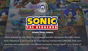 Sonic is the protagonist of the last Humble Bundle
