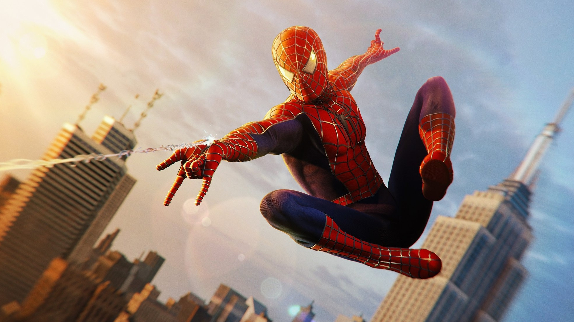Spider Man Ps4 Gets Sam Raimi Suit For Free Eurogamer Net