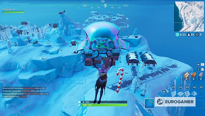 "fortnite_giant_candy_cane_locations_1 ""data-uri ="" 2018 / articles / 2018 -12-20-14-47 / fortnite_giant_candy_cane_locations_1 .jpg ""/> </figure> <p><!-- f#8:start --></p> <hr/> <p><i></p> <p>  You can lock Fortnite Season 7 skins and feelings up every week with Fortnite Challe nges – the last included</p> <p>the three ski lodges place, ringing doorbells in Fortnite and giant Candy Cane places and Christmas tree locations.</p> <p>Other latest grants include Fortnite airline locations and Snowfall Secret Battle Star sites – oh, and we've explained how to thank the Fortnite bus driver on all platforms, just in case you were wondering.</p> <p></i></p> <hr/><!-- f#8:end --></section> <section class="