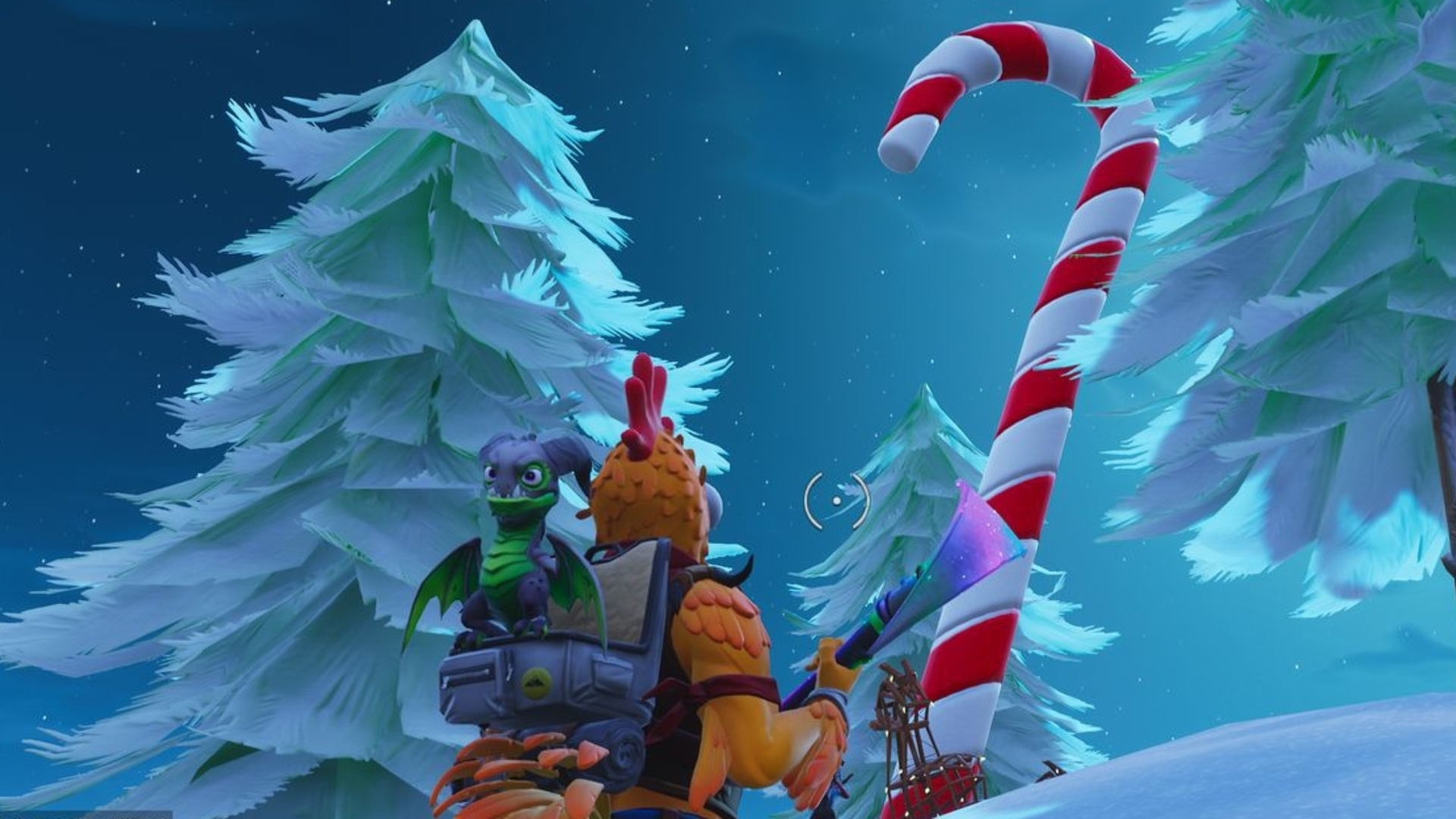 Fortnite Giant Candy Cane Locations Where To Find Candy Cane