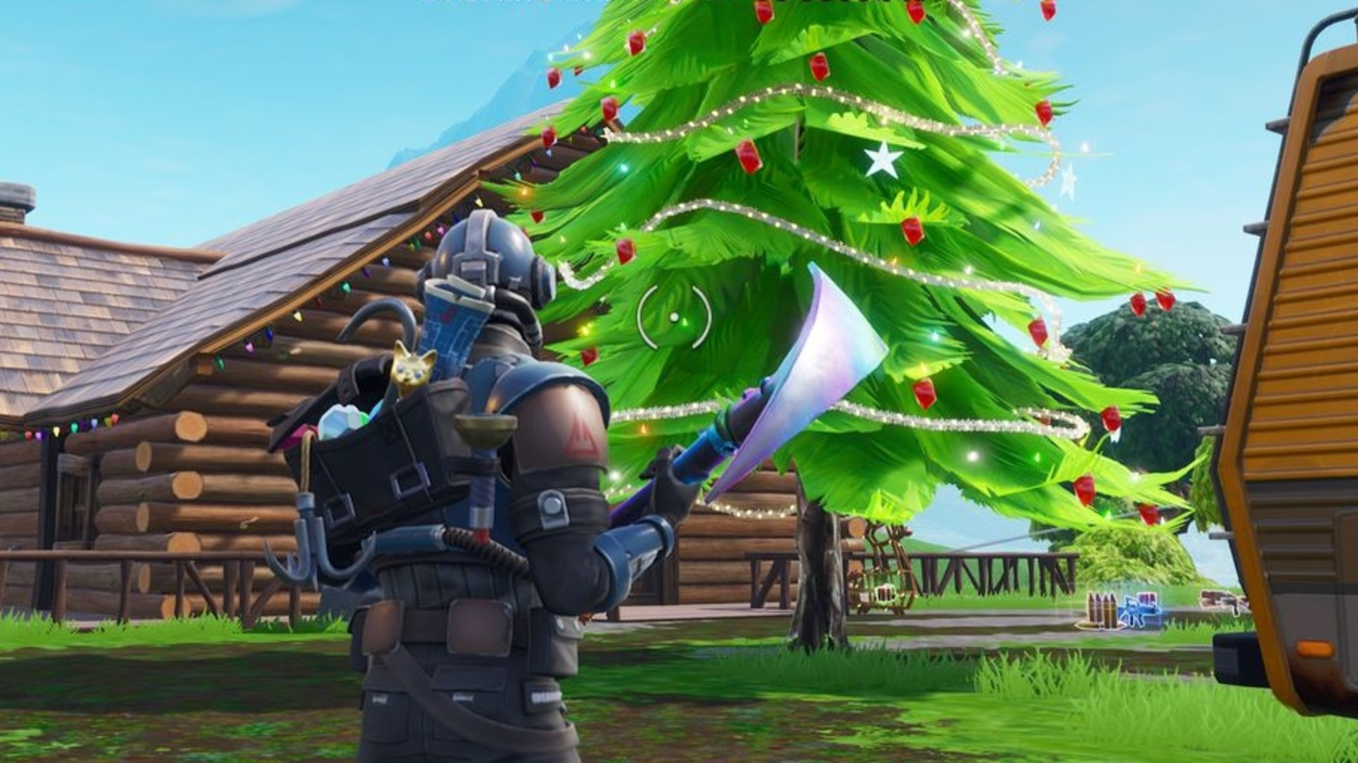 Fortnite Christmas Tree Locations Where To Find Christmas Tree