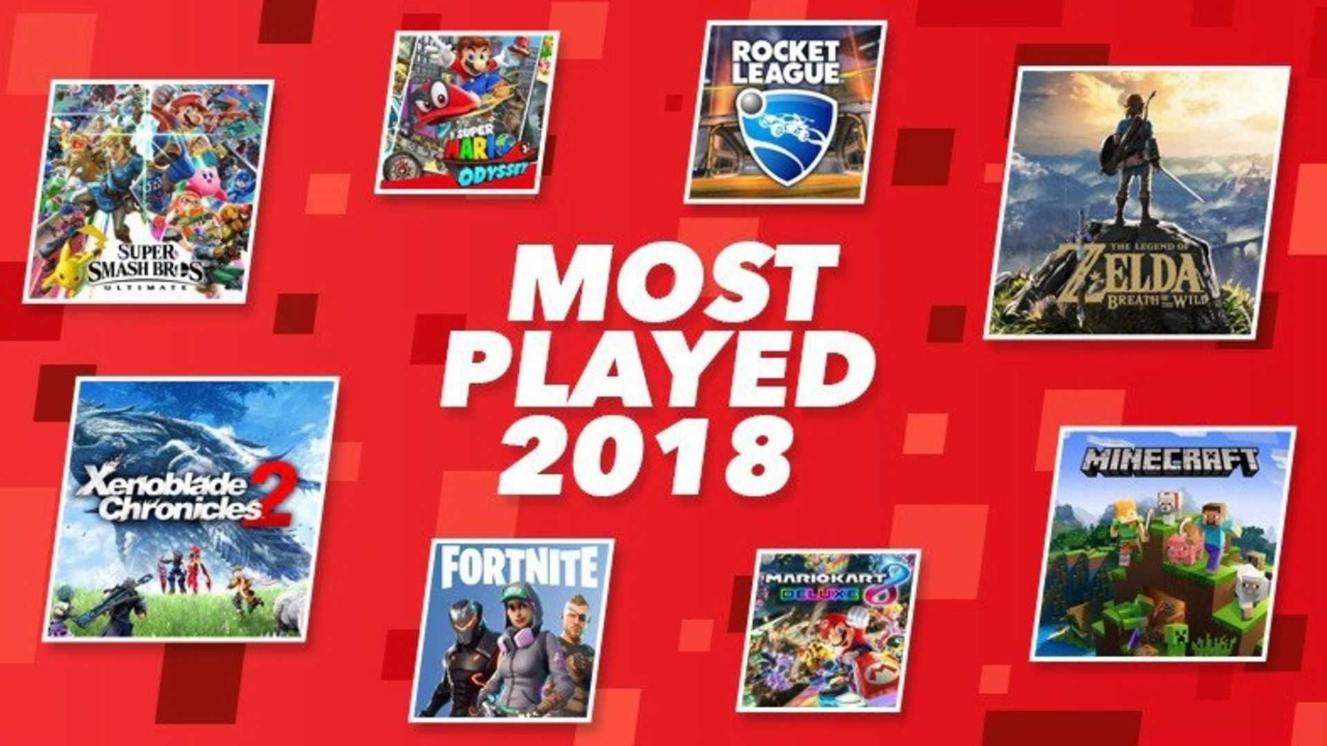 Fortnite was the most-played Nintendo Switch game in Europe last year