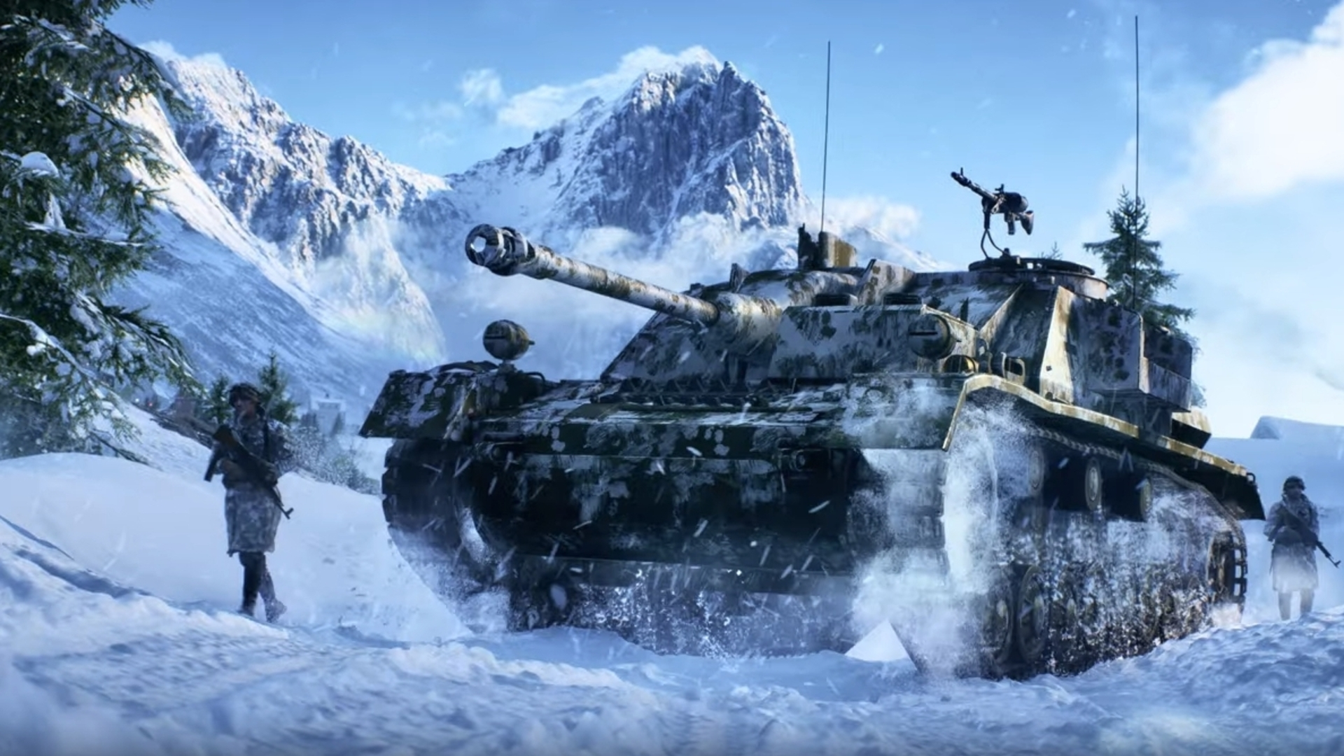 Flashy Battlefield 5 trailer teases chaotic new modes
