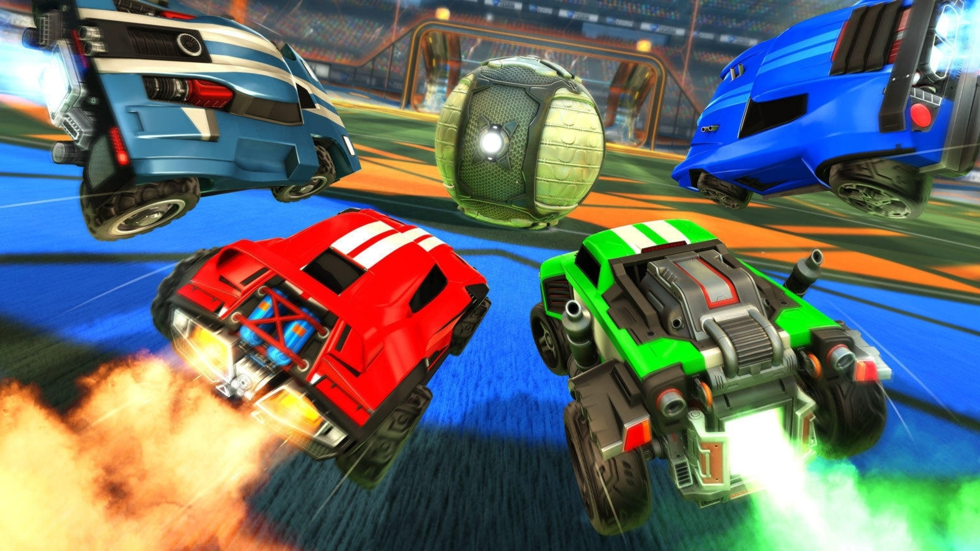 Rocket League now features full cross-platform play between PS4, Xbox One, Switch, and PC
