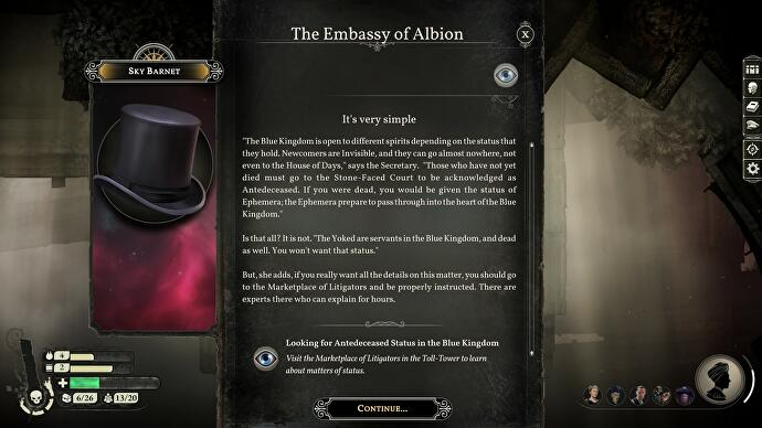 Sunless Skies Review A Rather More Accessible Literary Space
