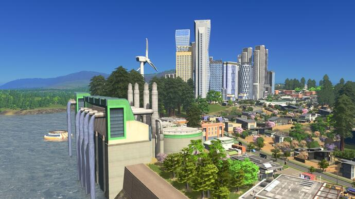 Cities: Skylines gets the eco-themed Green Cities expansion today on Xbox One andPS4