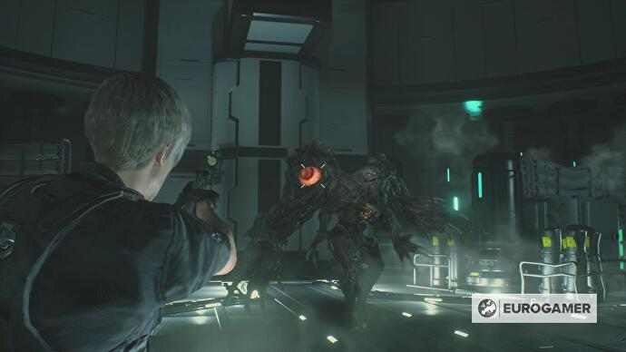 Resident Evil 2 G Tyrant Stage 3 Boss Strategy Exploring
