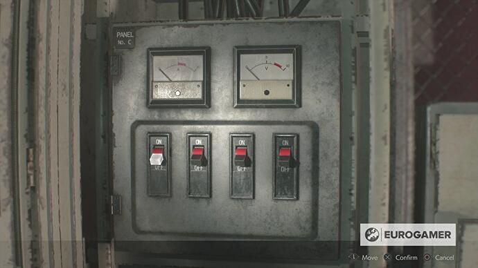 Resident Evil 2 - Generator Room puzzle, Club Key location and Large