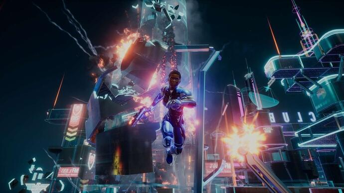 You can't play Crackdown 3's competitive multiplayer with friends atlaunch