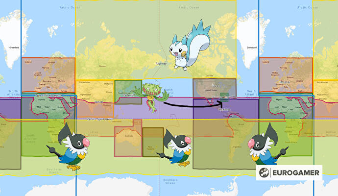 Pokémon Go has three new regional exclusives • Eurogamer net