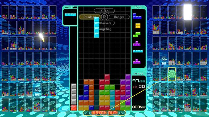 Tetris 99 might be the best battle royale yet