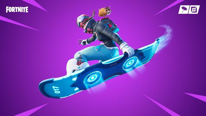 Disponibile il content update v7.40 di Fortnite che introduce il Driftboard