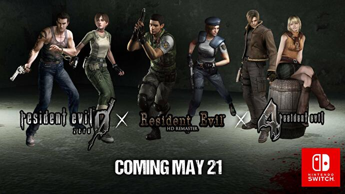 Resident Evil 0, 1 and 4 get Nintendo Switch release dates