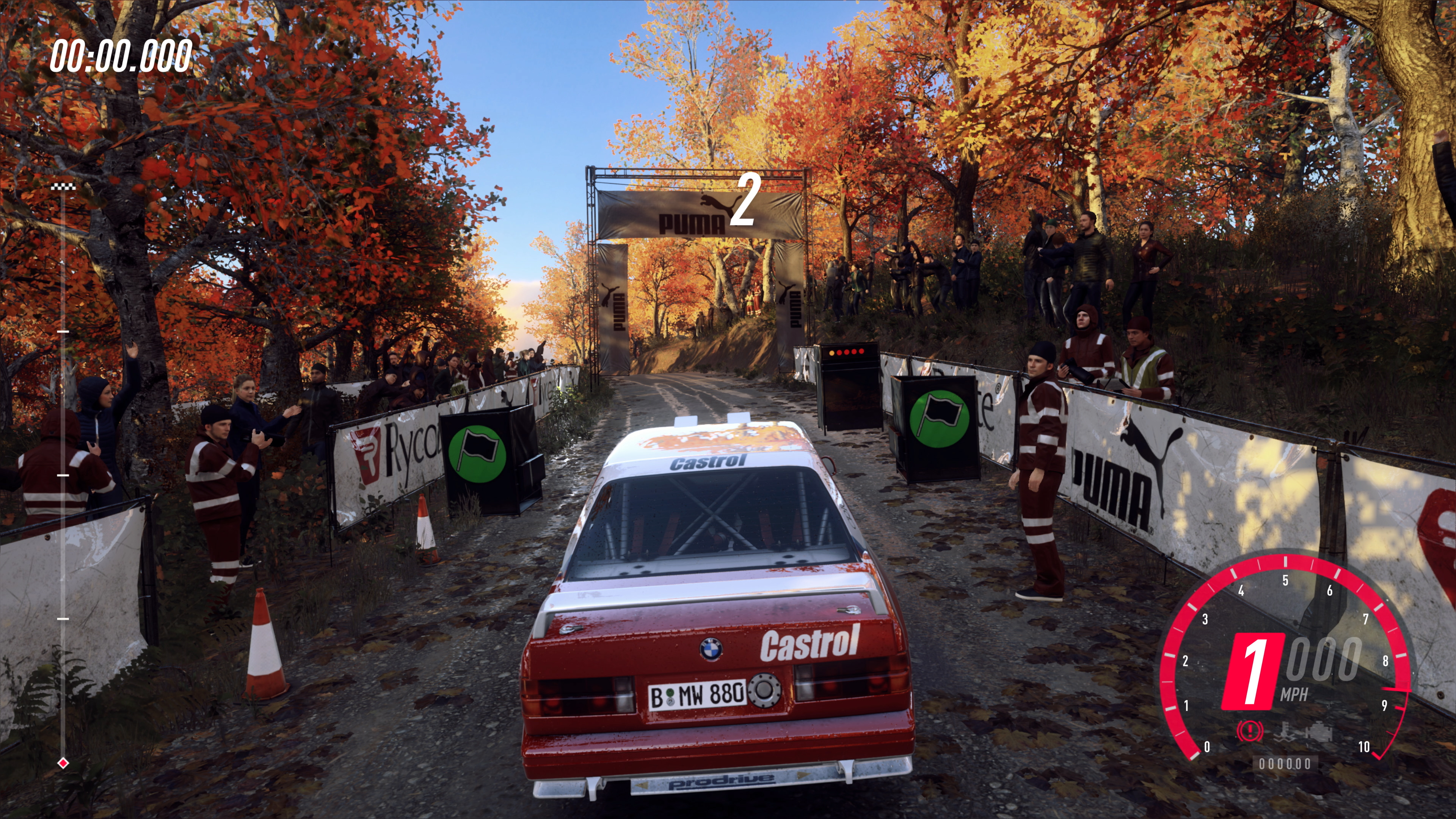 Dirt Rally 2 0 on Xbox One X races ahead of the pack