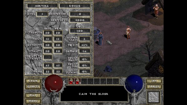 GOG and Blizzard bring Diablo 1 back from the dead