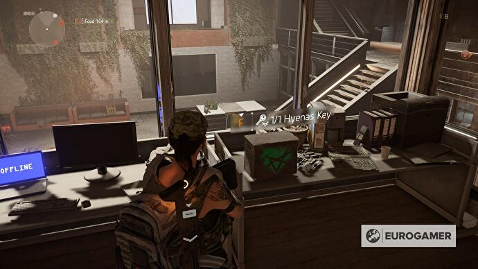 The Division 2 Hyena Key locations - where to find Factions