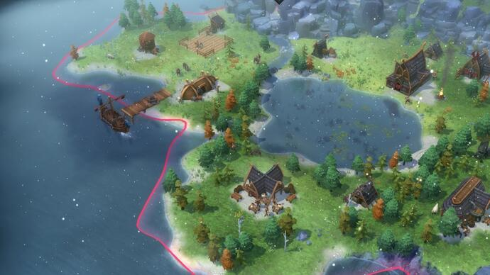 Viking RTS Northgard adds giant-summoning Relics and more in big free update