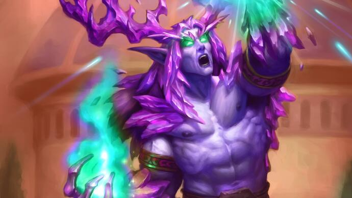 Here's a brand new legendary card from Hearthstone's next expansion
