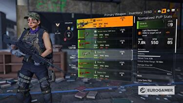 The Division 2 Best Weapons Damage Stats And Talents List All Weapon Damage Stats Charts And Weapon Talents Eurogamer Net