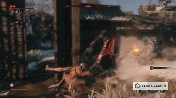 Sekiro Chained Ogre fight - how to beat and kill the Ogre