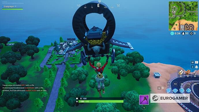 fortnite knife point location 1 - busca donde apunta el cuchillo en la pantalla de carga fortnite