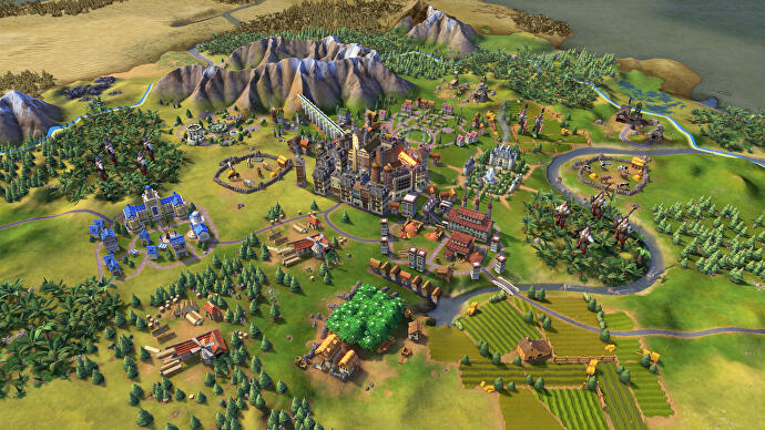 Firaxis dev releases mod that makes Civ 6 look like Civ 5 ... on dota 2 custom map, civilization 5 europe map, minecraft custom map, skyrim custom map, league of legends custom map, portal 2 custom map, sims 3 custom map,