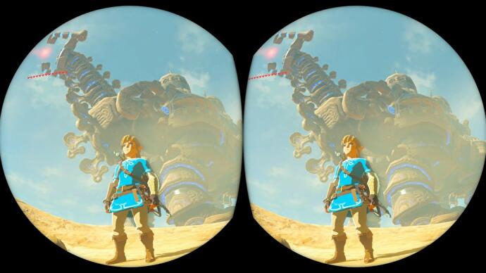 Zelda Breath of the Wild VR update: How to play Zelda in VR