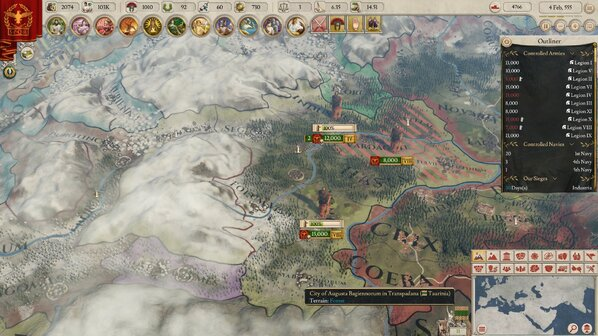Imperator: Rome review - a smart grand strategy that lacks