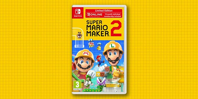 Super Mario Maker 2 limited edition includes year's Switch