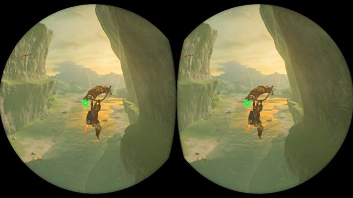 The Legend of Zelda: Breath of the Wild's VR update isn't really VR, but it is a fun new way to play