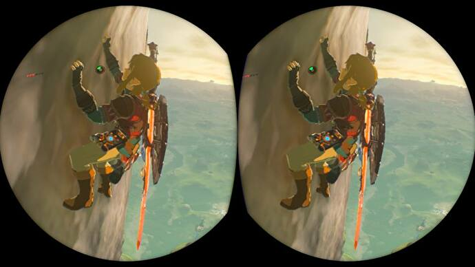 The Legend of Zelda: Breath of the Wild's VR update isn't