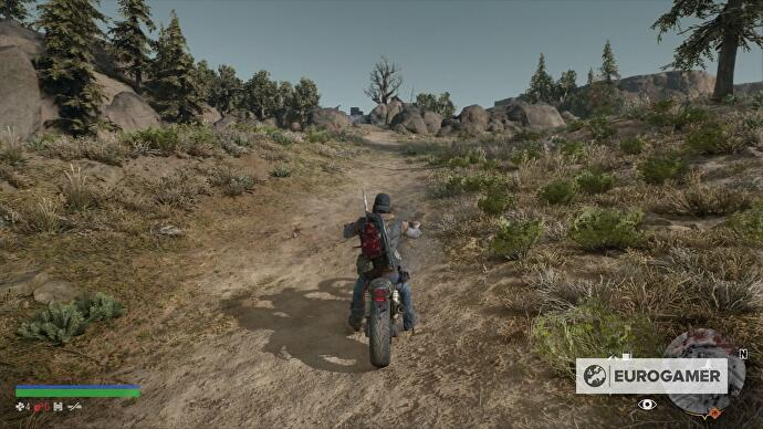 Days Gone Nero Research Site locations, Nero Checkpoint
